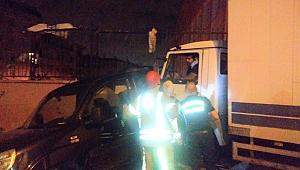 Esenler'de kamyonetin freni patladı Can pazarı yaşandı