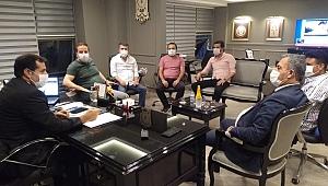 Güngören Emniyet Müdürü Murat Aydın tebrikleri kabul etti