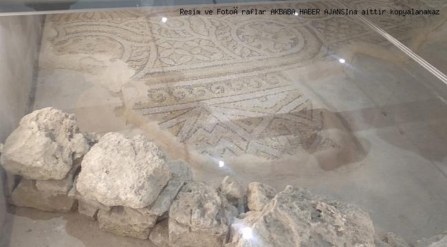 İstanbul'un tarihi için yeni tanık, Zeytinburnu mozaikleri oldu !!