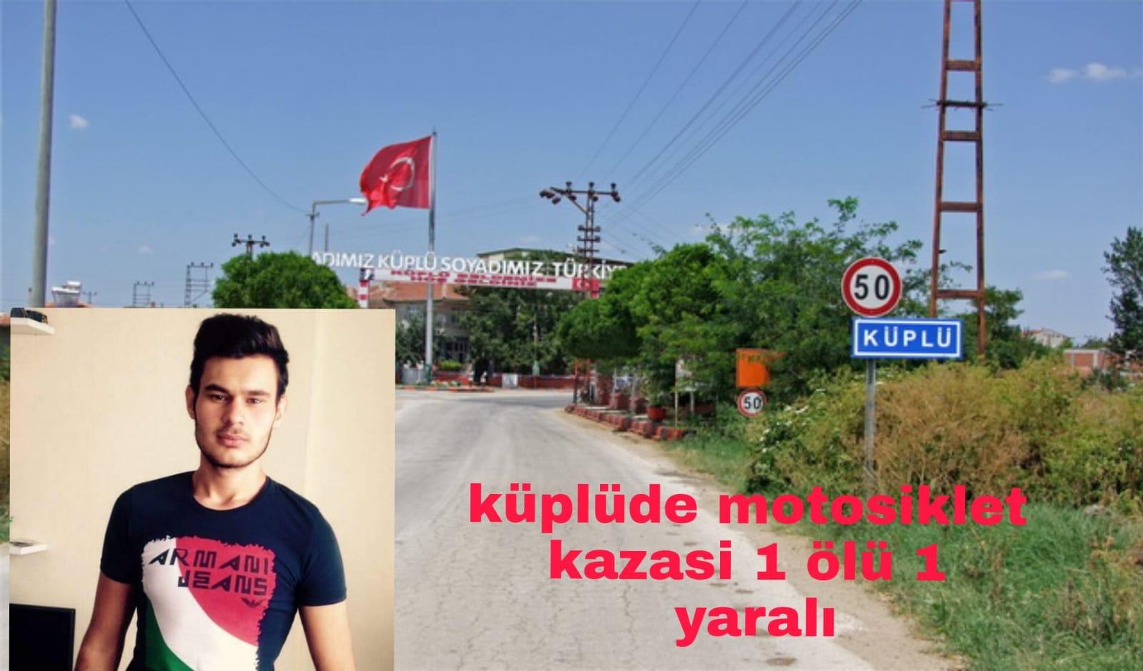 Edirne Meriç te motosiklet kazası bir canı daha hayattan kopardı