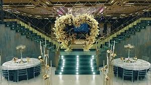 Triya Davet ve Balo Salonu Muhteşemliğiyle kapılarını açtı