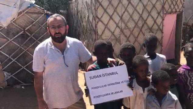 Ardahan Posoflular Sudan'da yetimlerin ve mazlumların yüzünü güldürdüler