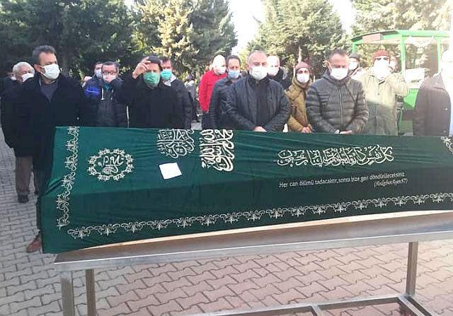 Aydın Ailesi, Aile büyükleri Burhan Aydın'ı dualarla Hakka uğurladı