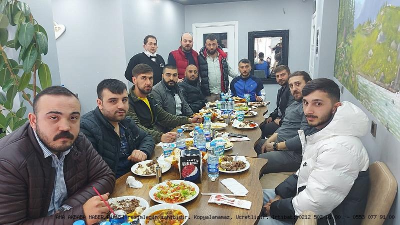 Camlıkahve Genç Fenerbahçeliler, Balcı Kardeşler Restaurantı bereket sofrasında ağırlandılar