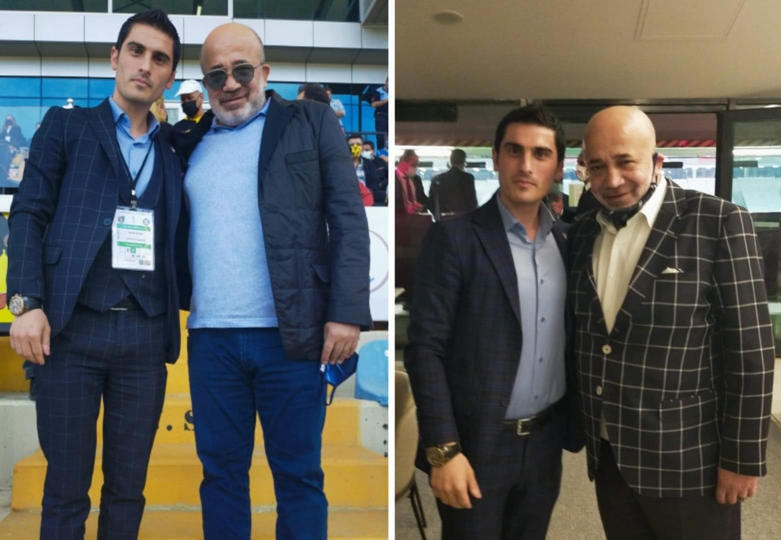 Genç Başkan Özgür Subaşı Murat Sancak Başkana Süper Lig'de Başarı Diledi