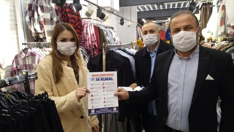 Güngören Esnaf ve Sanayici iş adamları derneği 14 Kuralda taviz vermiyor