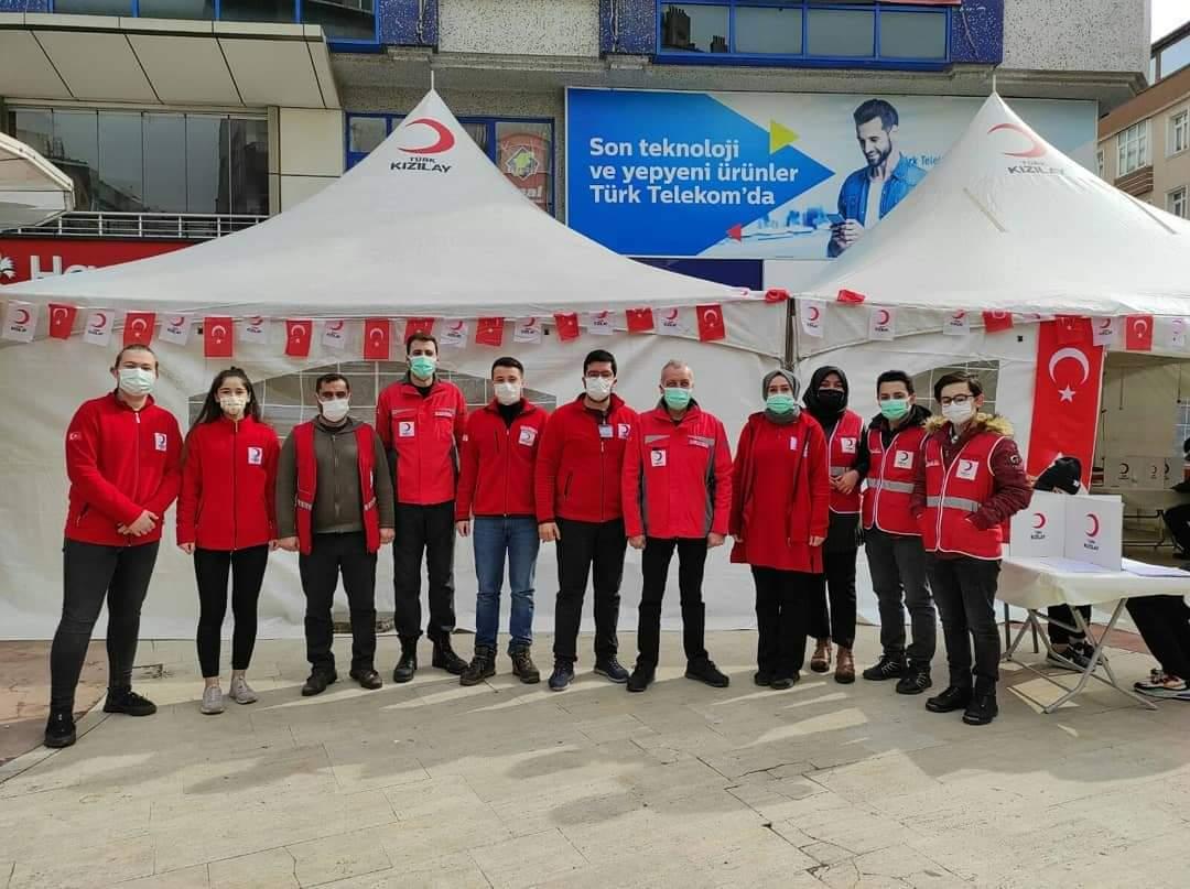 Güngören, Kan bağışında İstanbul'da rekor üstüne rekor kırdı