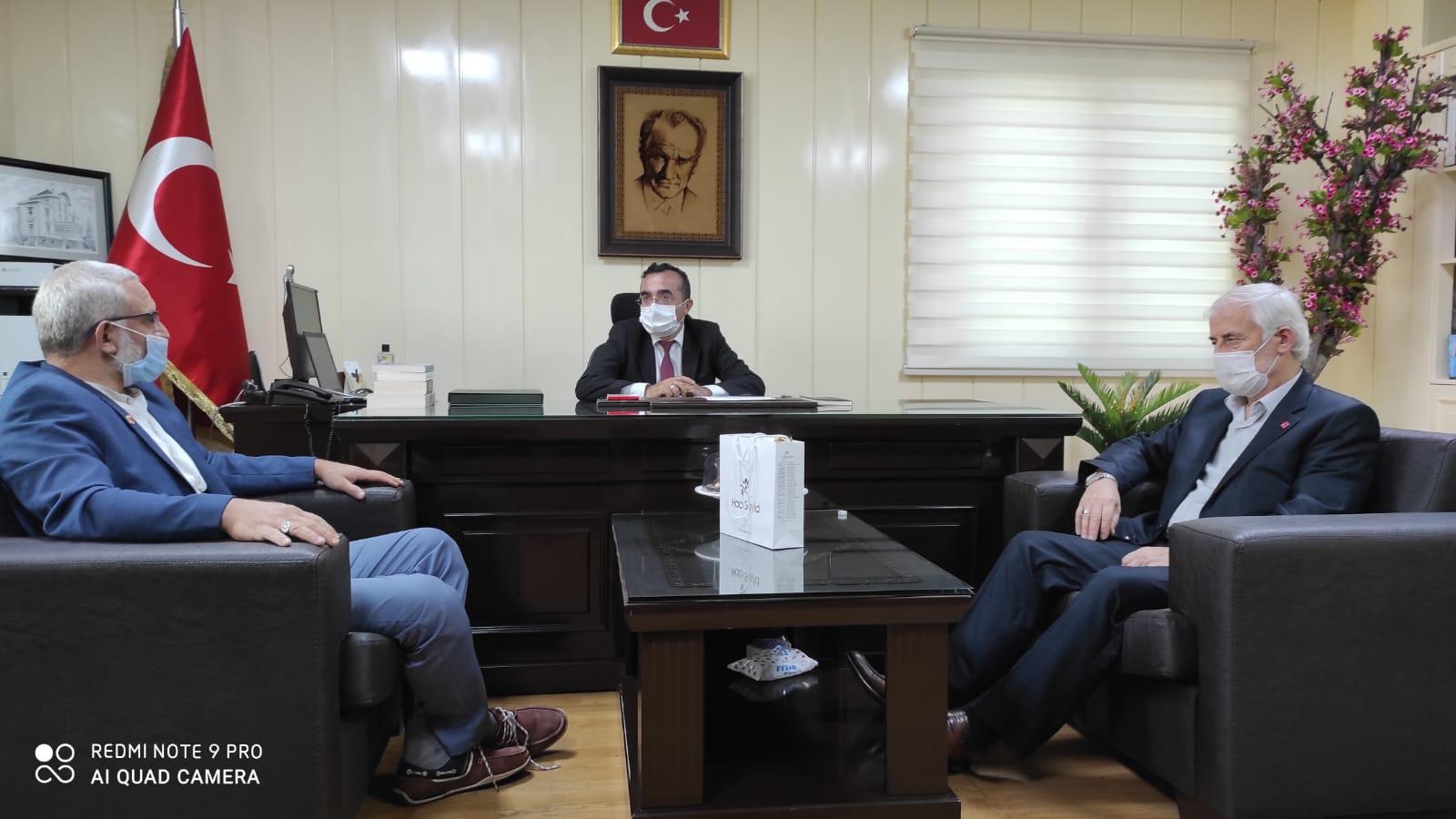 Güngören Saadet Partisi, Ferhat Öztürk'e Eğitim yılı hayırlı olsun dedi