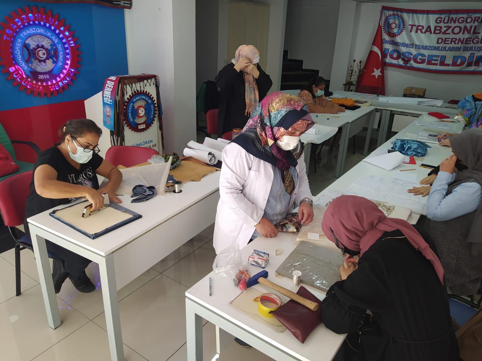 Güngören Trabzonlular Derneği Filografi kursuna kapılarını açtı