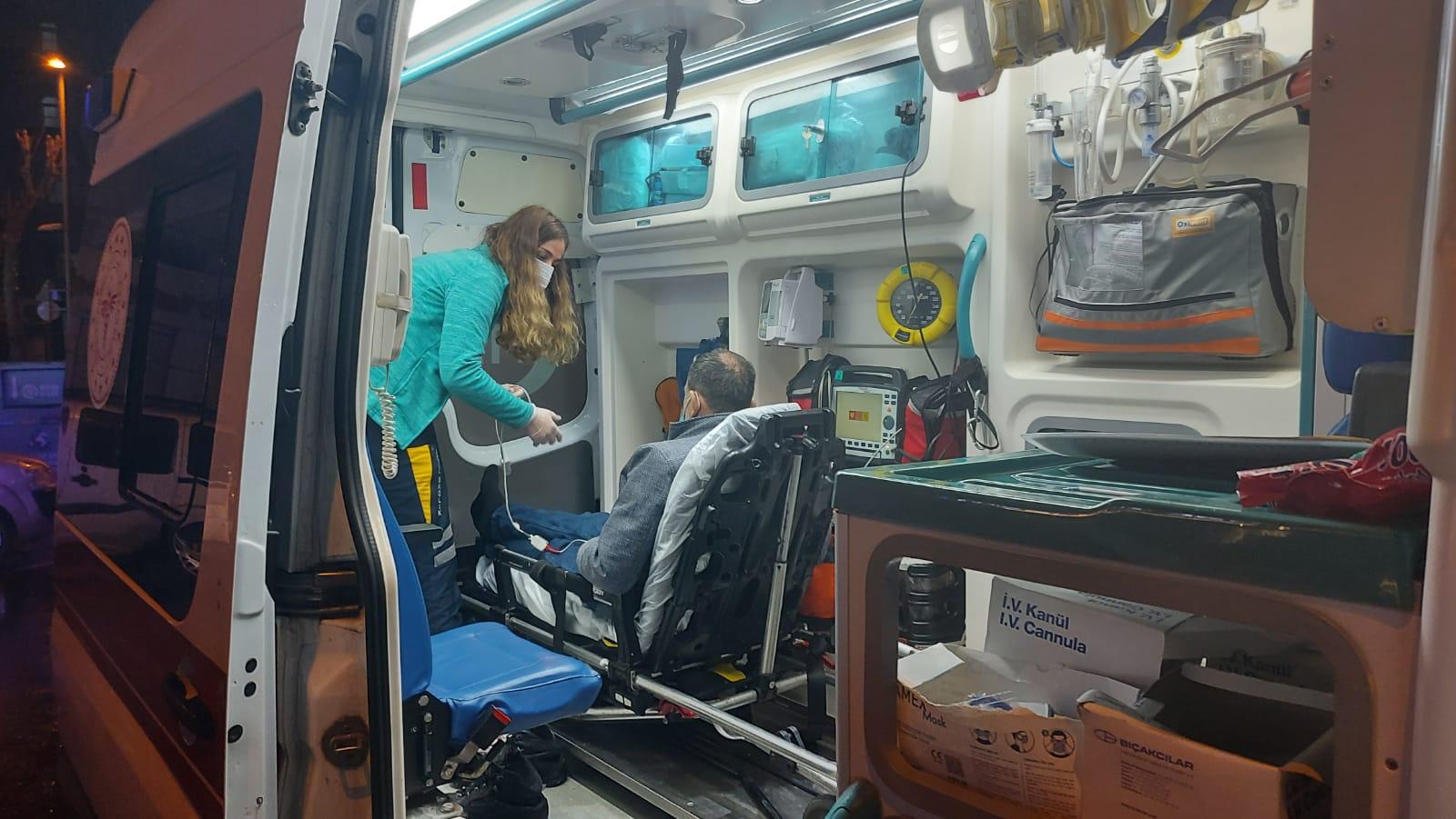 Hastaneden kaçtı, imdadına 112 sağlık ekipleri yetişti
