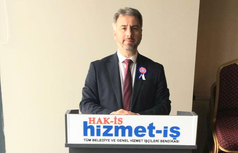 İstanbul Hizmet İş 5 nolu Şube yeniden Mustafa Şişman dedi