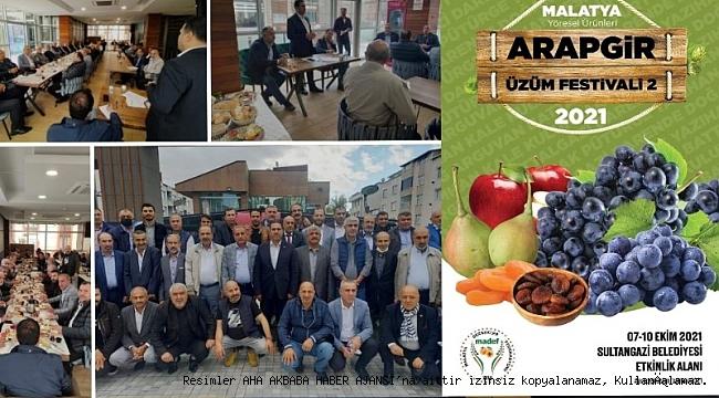 Madef, Malatya 2. Arapgir Üzüm Festivali 7-10 Ekim için gün sayıyor
