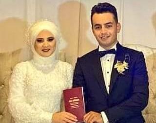 Murat Aydın'ın kızı Tuba Aydın Nikah masadında Gökhan Yıldırım'a EVET dedi