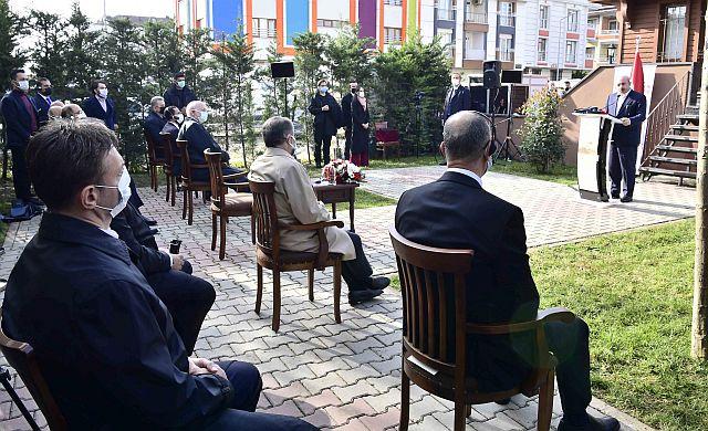 TBMM Başkanı Şentop Bahçelievler'de konuştu: Kudüs, İsrail için nihai bir hedef değildir